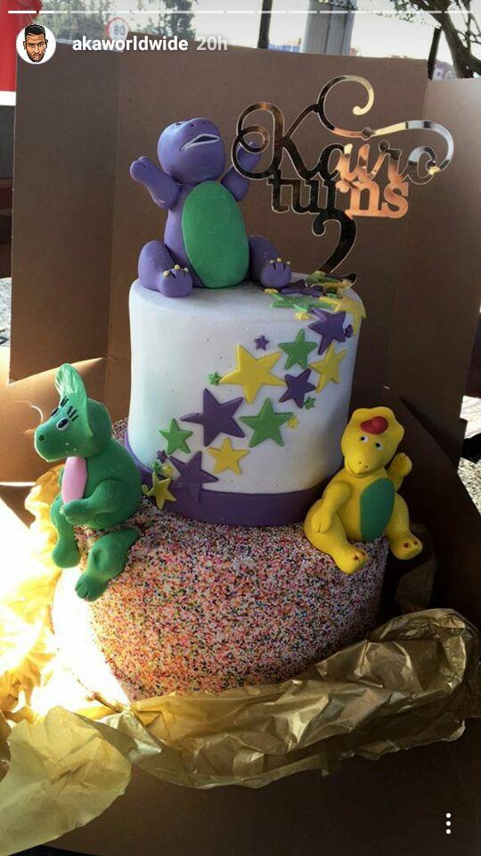 SNAPS Heres How AKA Celebrated Kairos Birthday
