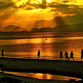Summer for you! by Do AmateurPic - People Street & Candids ( viet nam., amateurpic. da nang, sunset, beach )