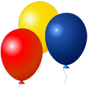 Kids game Balloons RUSH icon