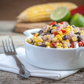 Southwestern Black Bean and Corn Salad.
