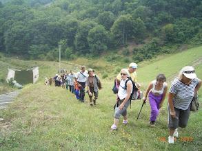 Photo: uspon na branu Krajkovačkog jezera