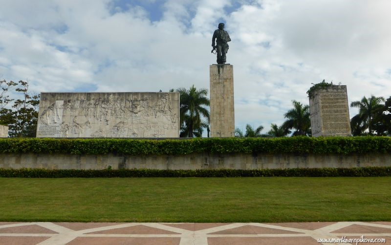 Revolution square in Santa Clara, Cuba