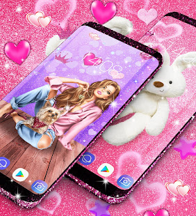 Wallpapers for cute girls 13.0 APK + Mod (Unlimited money) untuk android