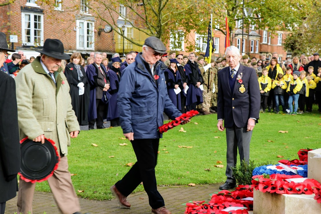 Parade and Service of Remembrance, Remembrance Sunday 2019, Tenterden