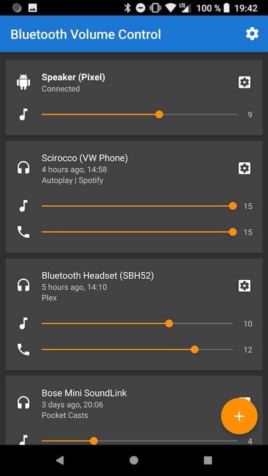 Bluetooth Volume Control v2.27 Premium