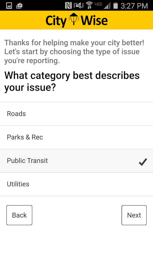 CityWise- screenshot