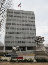 Photo: Von Braun's old stoping ground at NASA Marshall inside Redstone Arsenal.  His office?  Top floor, of course.