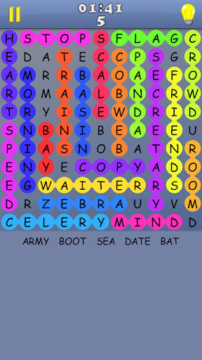 Word Search - A free game with infinite puzzles apkmr screenshots 2