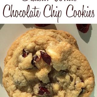 Craisin White Chocolate Chip Cookies