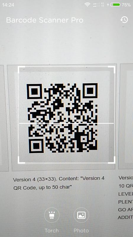 Qr Barcode Scanner Pro 1