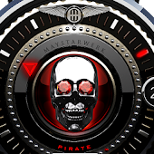 Red Pirate Watch Face