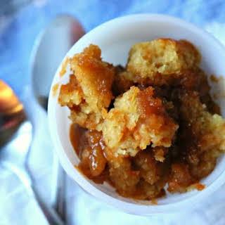 Crockpot Vanilla Butterscotch Pudding Cake.