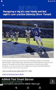 Kentucky Sports Radio (KSR)- screenshot thumbnail
