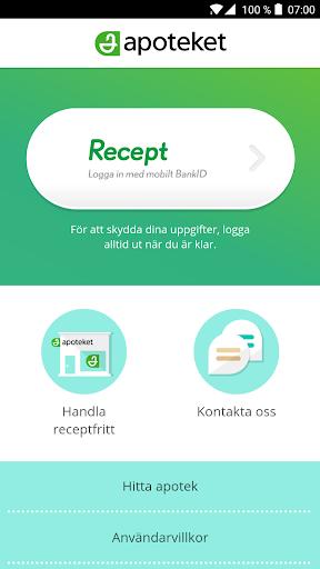 hämta recept online