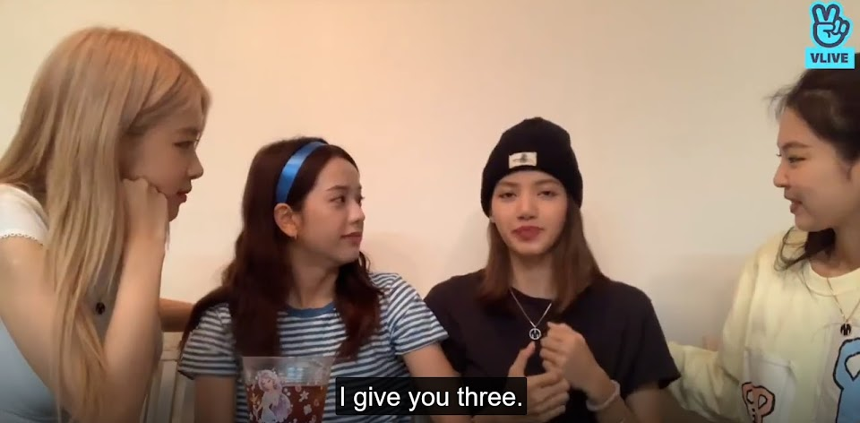 i give a three