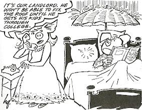Photo: Harold's cartoon