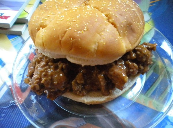 Cheddar Sloppy Joes Recipe