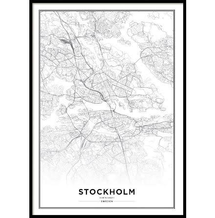 STOCKHOLM CITYMAP, POSTER