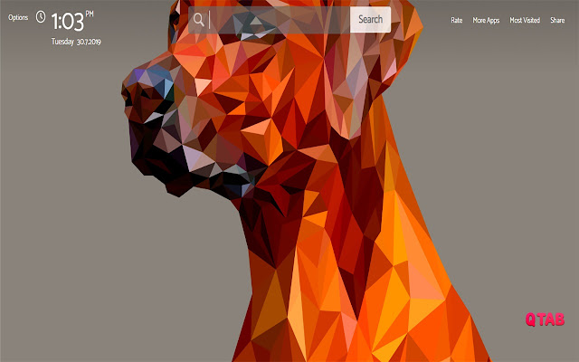 Facets Wallpapers New Tab Theme