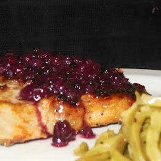 Ozeri Green Earth Pan Review & Blueberry Pork Chops