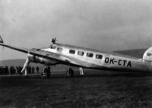 Photo: Lockheed Electra OK-CTA  olomouc.idnes.cz