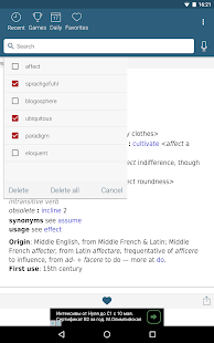 Dictionary - Merriam-Webster Screenshot