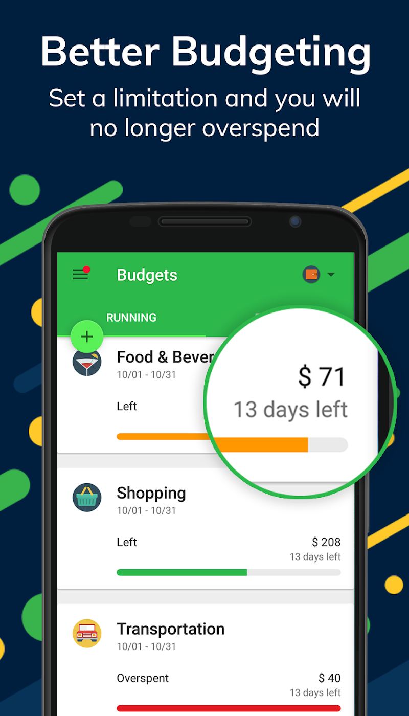 Money Lover: Budget App & Expense Tracker Screenshot 1