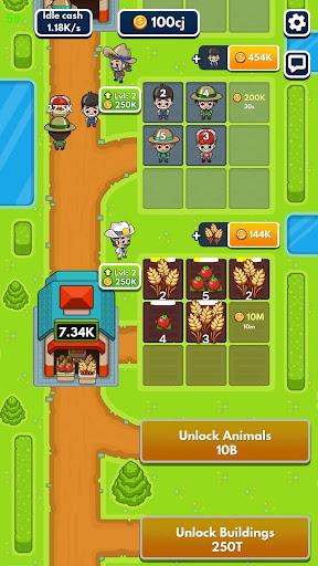Idle Farm Tycoon - Merge Simulator apkpoly screenshots 8
