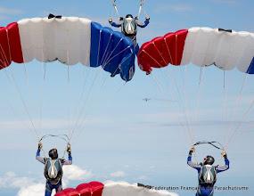 Photo: L'équipe de France de Séquence à 4 vainqueur des Championnats du Monde 2014 de Voile Contact
