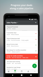 Pipedrive – Sales CRM Screenshot