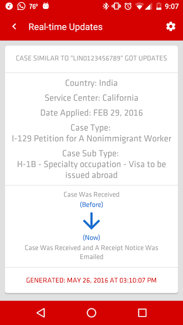 #5. USCIS Case Status (Android)
