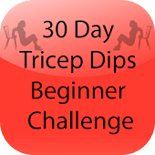 30 Day Tricep Dips Beginner