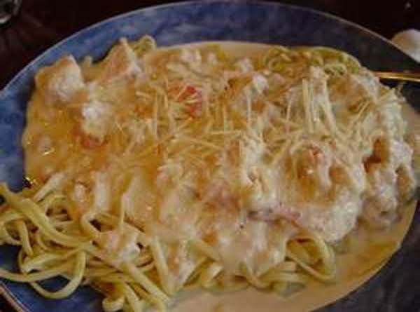 Red Lobster Crab Alfredo - Recipe