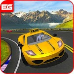 Off-Road Mountain Taxi Driver 3D Simulation Games Icon