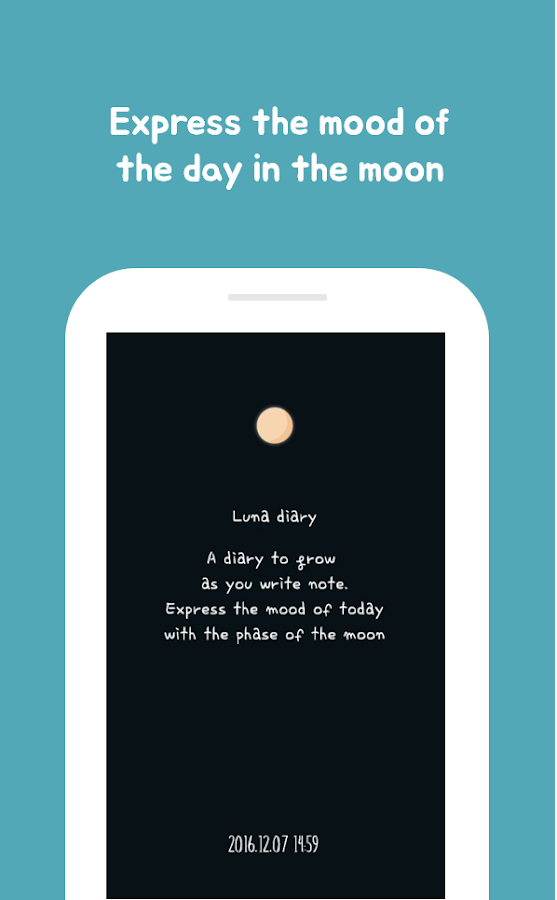 Luna Diary-journal on the moon- screenshot