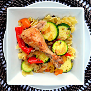 Tarragon Chicken With Fennel And Zucchini