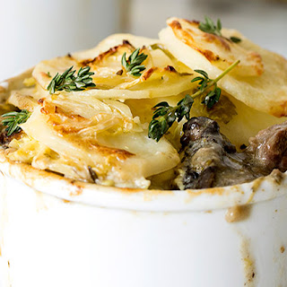 Dauphinoise-topped Steak And Mushroom Pies