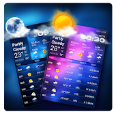 Daily weather details widget for forecast