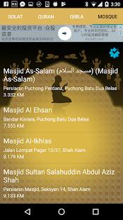 Solat Malaysia - Offline alarm, Quran, Qibla - náhled
