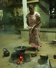 Photo: Cooking at Mankumban Northern Sri Lanka
