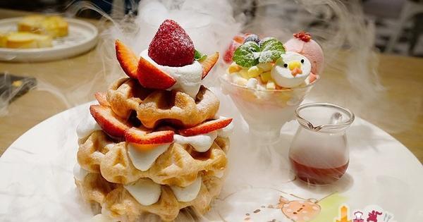 ChuJu waffle 雛菊鬆餅