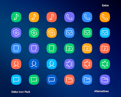 Delux - Icon Pack Screenshot
