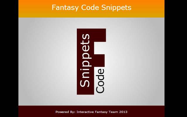 Fantasy Code Snippets