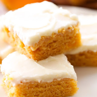 Orange Creamsicle Sheet Cake.