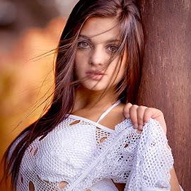 Beautiful girl portrait by Mike Irschick - People Portraits of Women