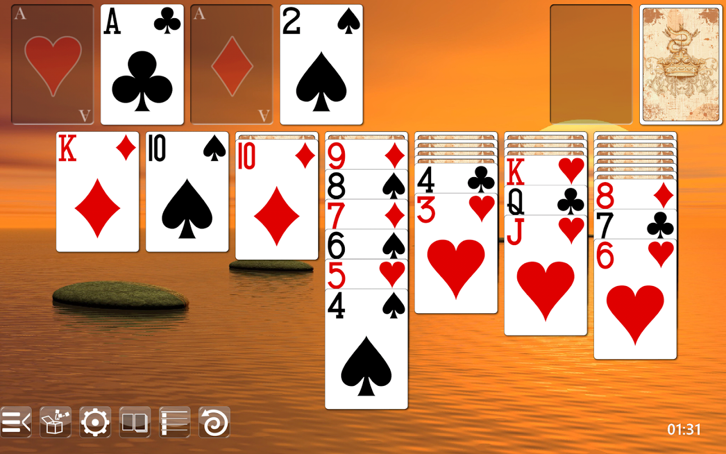 free solitaire card game to play offline