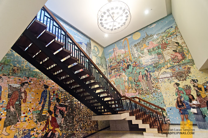 Royal Ambarrukmo Hotel Yogyakarta Mozaik