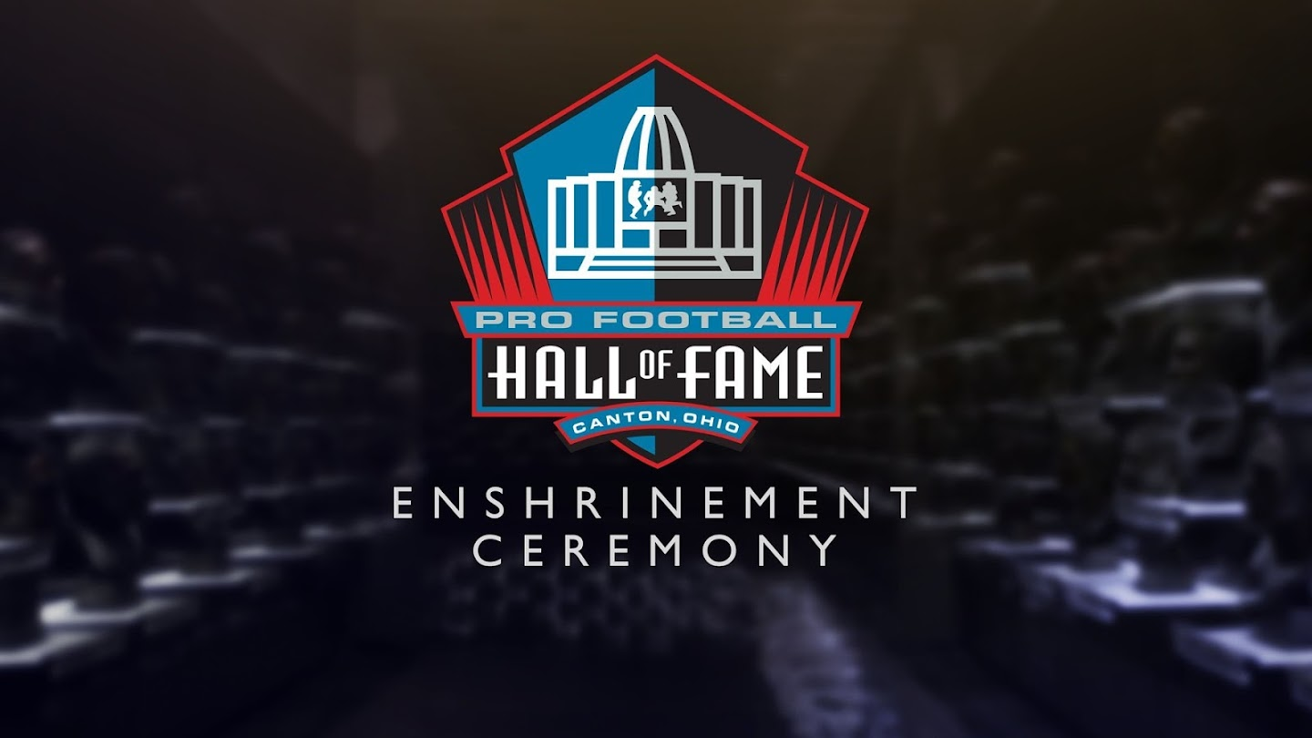 Watch 2018 Pro Football Hall of Fame Enshrinement Ceremony live