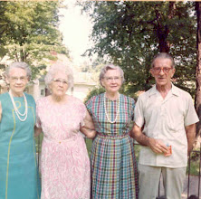 Photo: Jeanette (pink dress) with two of her relatives and her husband Bob