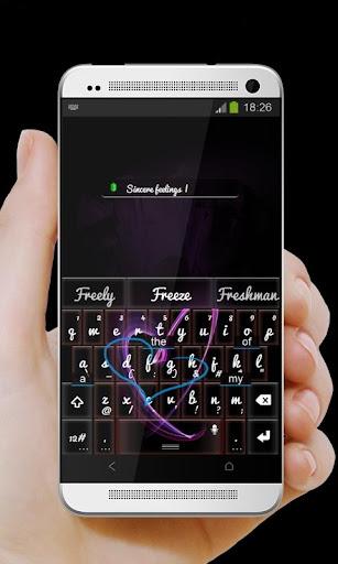 玩個人化App 紫心 TouchPal免費 APP試玩